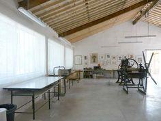 Sweet dream : a nice printmaking workshop studio