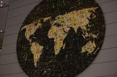Mapa stworzona ze zdjęć.