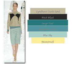 brown/green palette
