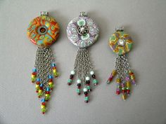 Washer pendants pinned for the image not a tutorial the metal washer pendants pinned for the image not a tutorial the metal looks like some sort of chemical action was performed not sure how the clasp wa aloadofball Choice Image