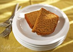 Karina's tasty pumpkin pie bread- a gluten-free recipe with autumn spices and just enough sweetness.