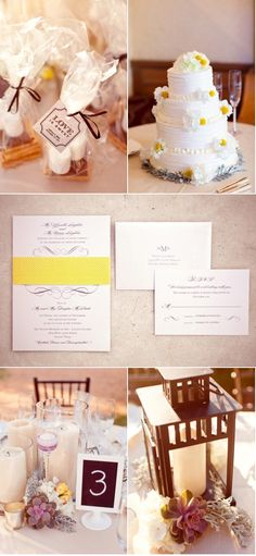 s'mores: love is sweet. Reception Favors?