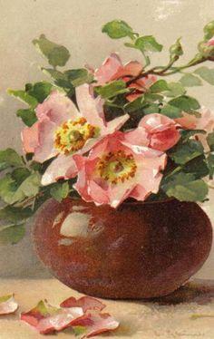 MATIN LUMINEUX: Les fleurs de Catherine Klein