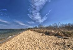 Terrapin Beach Park offers a quiet sandy beach for those looking for a less touristy spot.