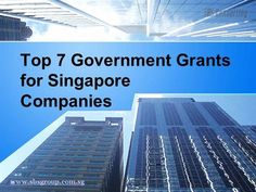 Singapore takes care of its companies. It offers numerous #Singapore #grants for #companies and enables them to control their overhead costs. The grants allow startups and existing companies to save on their corporate income tax. The grants also allow them to invest in the development of employee skills, adopting new technologies or equipment.