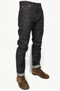 Momotaro Jeans 0605-DC Copper Label Natural Tapered : SUNSETSTAR