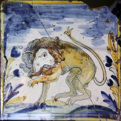Lion tile by Kotomicreations, via Flickr