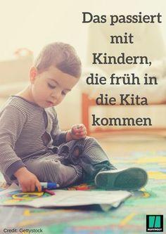 Experten sind sich einig: Kinder profitieren von frühem Kitabesuch #eltern #erziehung #kita #psychologie #baby