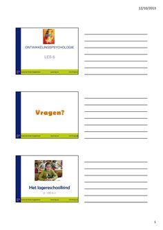 Informatie ontwikkeling lagerschoolkind 7tot 10 jaar (1/13)