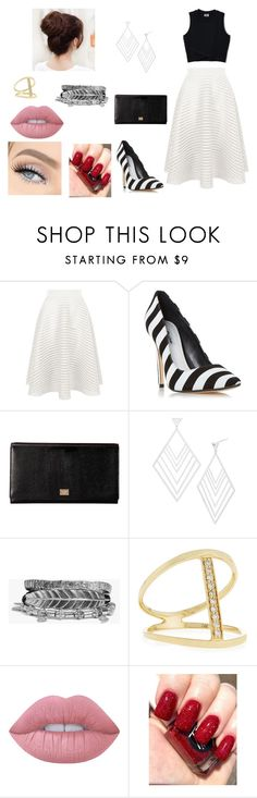 """""""TODAYS OUTFIT"""" by rosela-1 on Polyvore featuring New Look, Dolce&Gabbana, Gorjana, Boohoo, Sydney Evan and Lime Crime"""