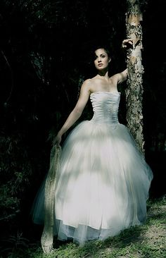 Tulle Ballerina Wedding Corset Gown. i really like this one