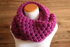 Radiant Orchid Infinity Scarf womens scarf by WillowAndSparrow, $35.00