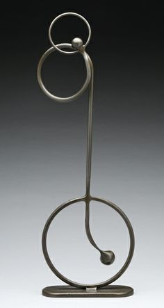 Rebecca Fox Metal Sculpture - Rebecca Fox is based in San Francisco, CA and creates abstract welded steel sculptures.