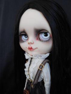 Personalizadas platos RBL Blythe Doll Face por Spookykidsworkshop