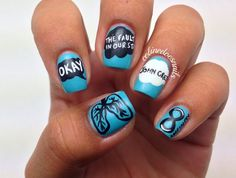 Nails By Celine: The Fault in Our Stars Nail Art