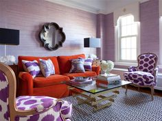 Stripes! Chevron! How to mix patterns in decor