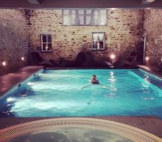 Sapphire serenity... thank you for sharing on #Instagram @amarsipan #DevonshireArms #spa #pool #luxury #hotel #hotelspa #regram #repost #beauty #travel #luxurytravel #evening #relax #wellness