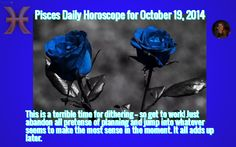 Pisces Daily Horoscope for October 19, 2014