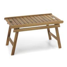Table basse avec plateau amovible Naturel - Rangiroa - Les tables basses pour jardin - Les canapés et fauteuils de jardin - Jardin - Décoration d'intérieur - Alinéa