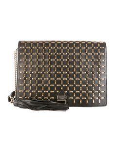 Rebecca Minkoff Leather-Threaded Shoulder Bag