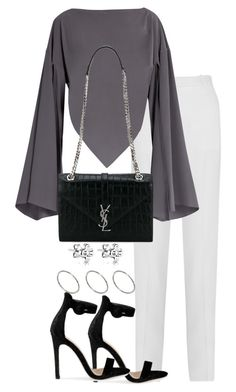 """Untitled #2954"" by theeuropeancloset ❤ liked on Polyvore featuring Givenchy, Balenciaga, Yves Saint Laurent and ASOS"
