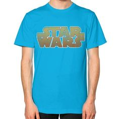 Star Wars Logo Unisex T-Shirt (on man)