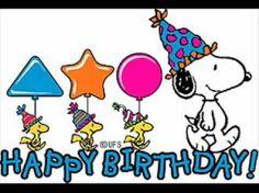snoopy feliz cumpleaños - Buscar con Google