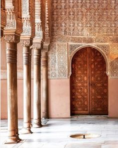 Be in thie midst of royalty and heritage at Alhambra Granada. Rediscover the 14th century again with preserved castles palaces fortress and mansions. Sam Zucker @saz444 took this up close and intimate image of 'The Red One'.  #theculturetrip #lovegranada #rediscoveralhambra #royalty #palace #stayandwander #passionpassport #visualsoflife #spain #door #doors #discover #instatravel #instalife #beauty by theculturetrip