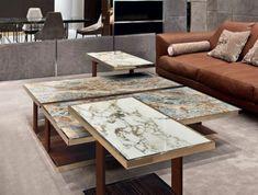 Table basse en marbre - 58 idées pour donner du style au salon