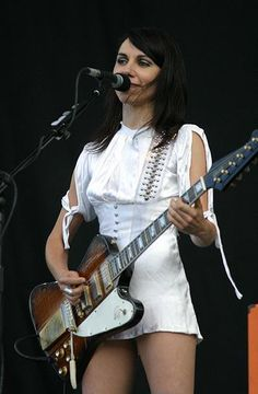 PJ Harvey for singing to my heart and brain.