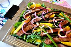 A simple salad packed with flavor