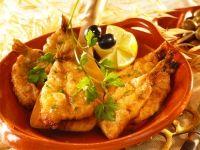 Gastronomia de Olhão - biqueirões albardados