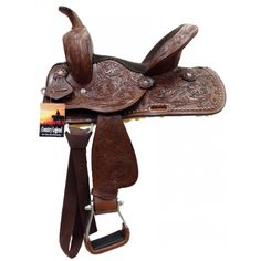 COUNTRY LEGEND RUSTY YOUTH SADDLE #youthsaddle #westernsaddle www.westernrawhide.com Western Horse Tack, Saddles, Youth, Country, Fit, Roping Saddles, Rural Area, Shape, Country Music