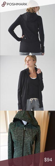 NWT Daily Practice Jacket Lululemon 8 Green Lululemon jacket hooded jacket with tags Size 8 lululemon athletica Jackets & Coats