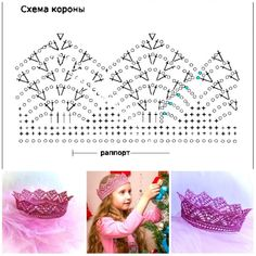 Crochet Borders, Crochet Diagram, Crochet Chart, Thread Crochet, Crochet Stitches, Crochet For Boys, Crochet Home, Cute Crochet, Beautiful Crochet