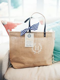 Welcome Bag goodness...This would be great for a destination wedding