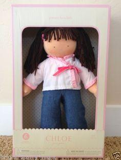 Pottery Barn Kids Chloe Doll Brand New in Box Baby Brunette Doll Gift Christmas | eBay