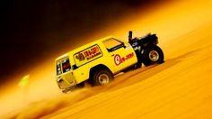 Uphill Sand Drag Race