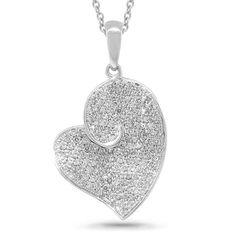 Uniquepedia.com - 0.61ct 14k White Gold Diamond Pave Heart Pendant Necklace, $840.00 (http://www.uniquepedia.com/0-61ct-14k-white-gold-diamond-pave-heart-pendant-necklace/)