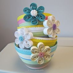 Quilly Nilly: Paper Bowls