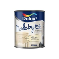 Dulux Made by Me Gloss 750ml Whipped Cream