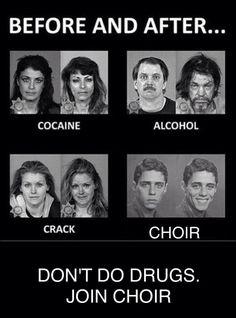 Ppppfffffftttttttt. I laughed at this too much. Choir advert guys we neeed to…