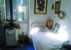 Ἱερός τόπος τό δωμάτιο ὅπου ἐκοιμήθη ὁ Ἅγιος Νεκτάριος. Bed, Furniture, Home Decor, Ghosts, Saints, Angels, Blessed, Mary, Christian