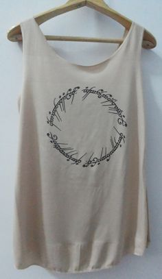 LOTR Mordor Shirts Tank top Pop Punk Rock Tank by vintageartshirt, $15.00