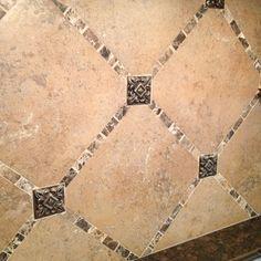 Kitchen backsplash tile detail