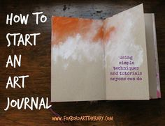 How to Start an Art Journal