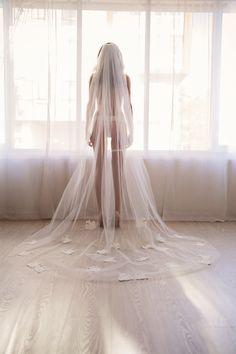 Bridal Boudoir Photography | Boudoir Groom's Gift |  Veil Boudoir | Bridal Boudoir Ideas