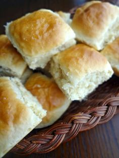 The Cooking Actress: One Hour Dinner Rolls