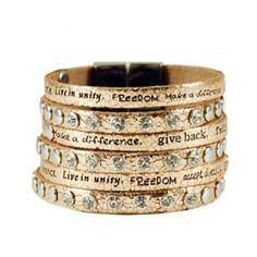 Come Together Metallic Bracelet