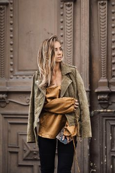 Moto Jacket | Lace-Up Top
